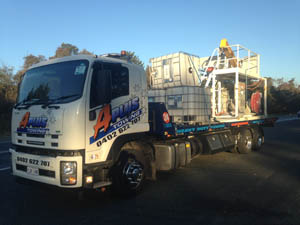 Machinery Access Equipment Canberra towing